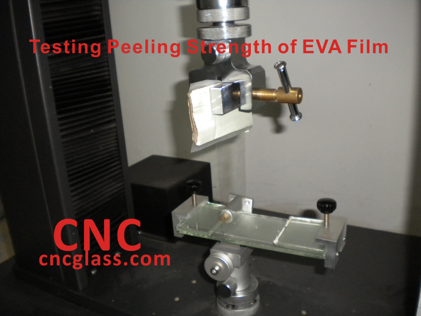 Testing Peeling Strength of EVA Film_conew1