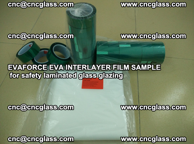 EVAFORCE EVA INTERLAYER FILM for safety laminated glass glazing (10)
