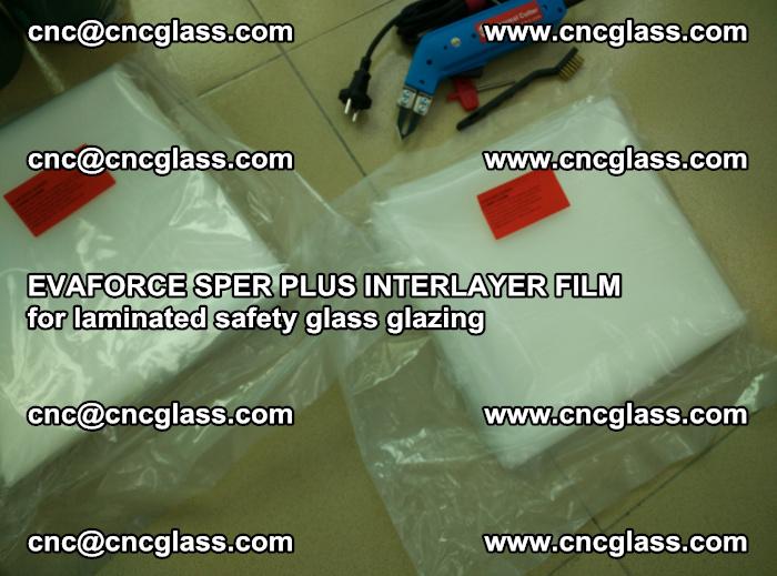 EVAFORCE SPER PLUS INTERLAYER FILM for laminated safety glass glazing (25)