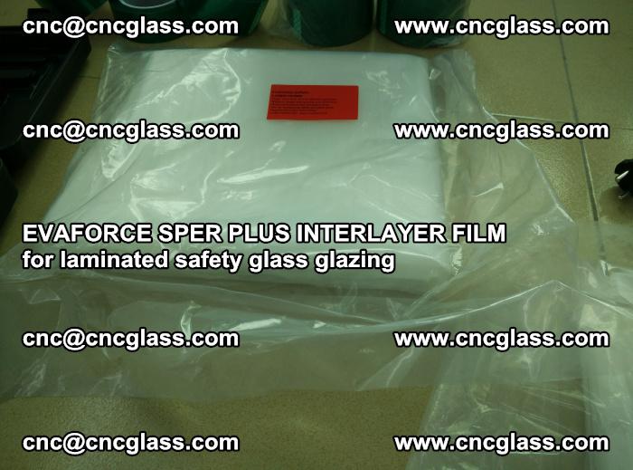 EVAFORCE SPER PLUS INTERLAYER FILM for laminated safety glass glazing (50)