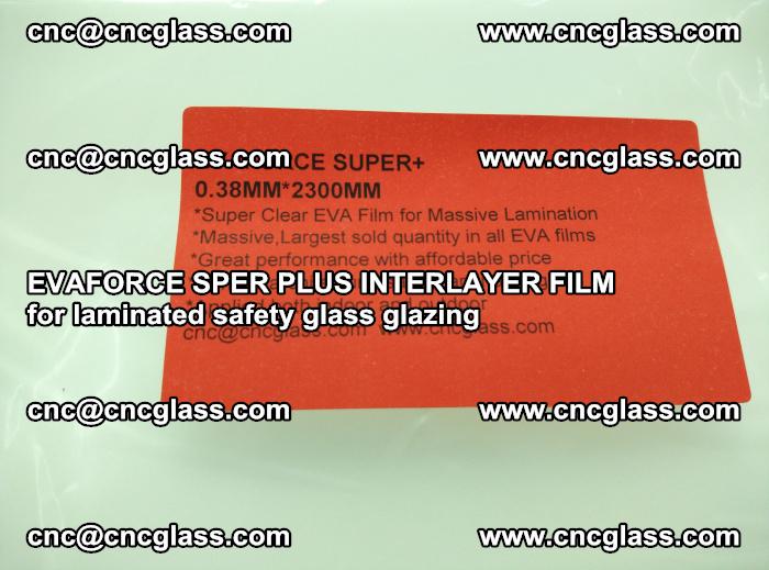 EVAFORCE SPER PLUS INTERLAYER FILM for laminated safety glass glazing (51)