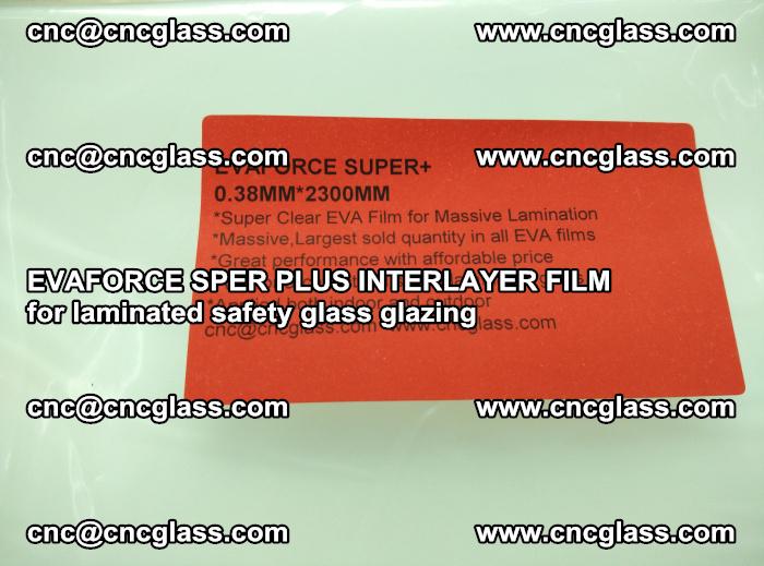 EVAFORCE SPER PLUS INTERLAYER FILM for laminated safety glass glazing (53)