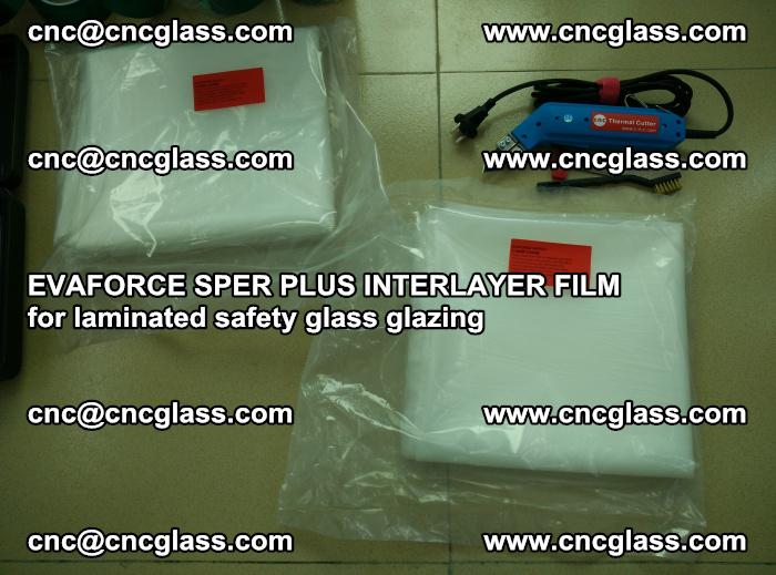 EVAFORCE SPER PLUS INTERLAYER FILM for laminated safety glass glazing (54)