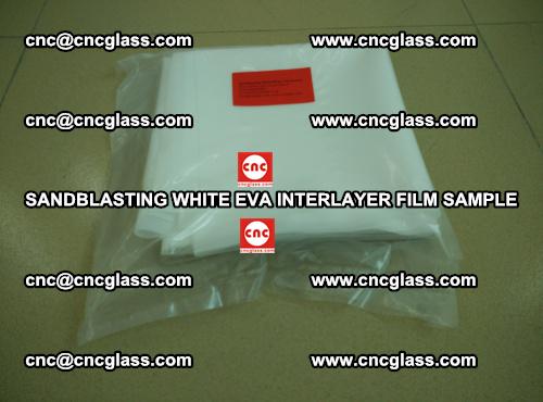 Sandblasting White EVA INTERLAYER FILM sample, EVAVISION (11)
