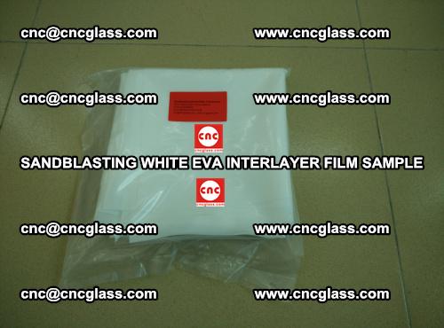 Sandblasting White EVA INTERLAYER FILM sample, EVAVISION (17)