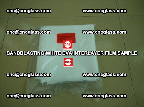 Sandblasting White EVA INTERLAYER FILM sample, EVAVISION (20)