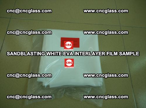 Sandblasting White EVA INTERLAYER FILM sample, EVAVISION (22)