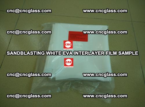 Sandblasting White EVA INTERLAYER FILM sample, EVAVISION (24)