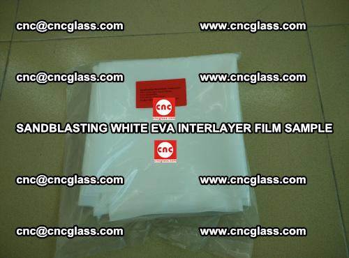 Sandblasting White EVA INTERLAYER FILM sample, EVAVISION (30)