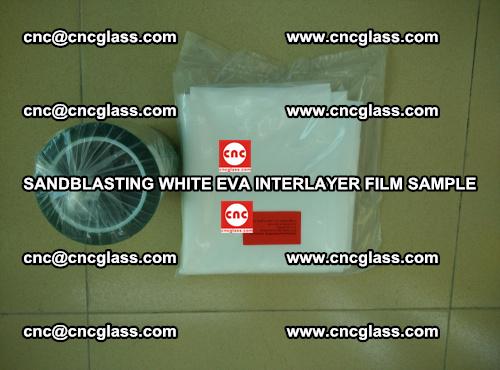 Sandblasting White EVA INTERLAYER FILM sample, EVAVISION (47)