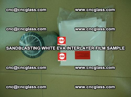 Sandblasting White EVA INTERLAYER FILM sample, EVAVISION (65)