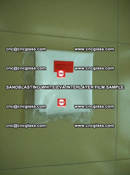 Sandblasting White EVA INTERLAYER FILM sample, EVAVISION (70)
