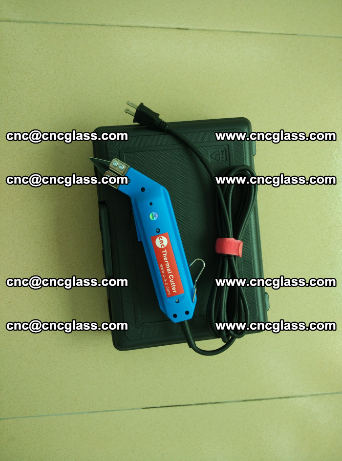 Hot knife trimmer for laminated glass edges cleaning (1)