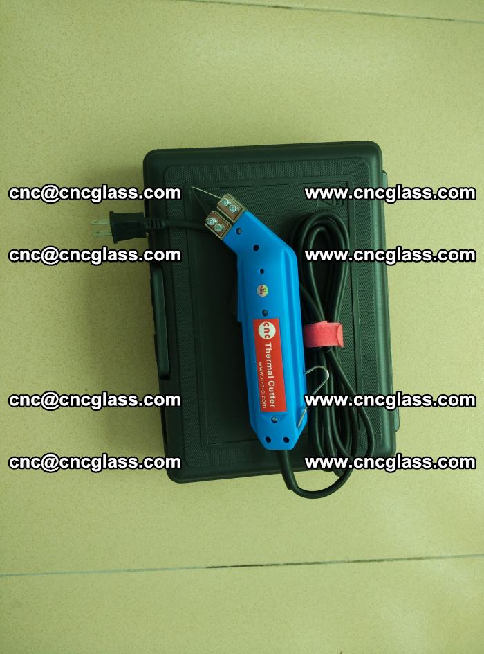 Hot knife trimmer for laminated glass edges cleaning (4)