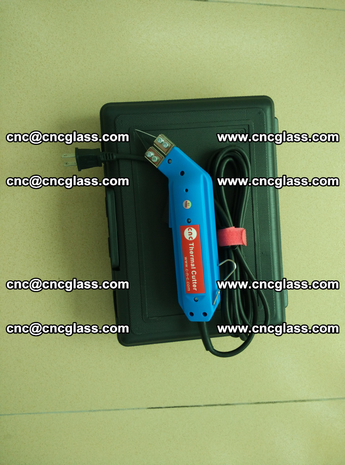 Hot knife trimmer for laminated glass edges cleaning (5)