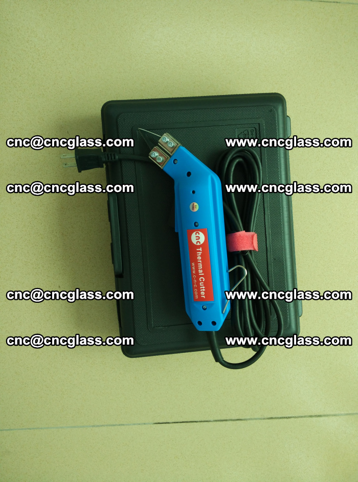 Hot knife trimmer for laminated glass edges cleaning (6)
