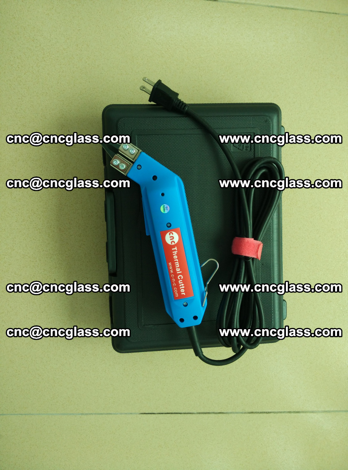 Hot knife trimmer for laminated glass edges cleaning (7)