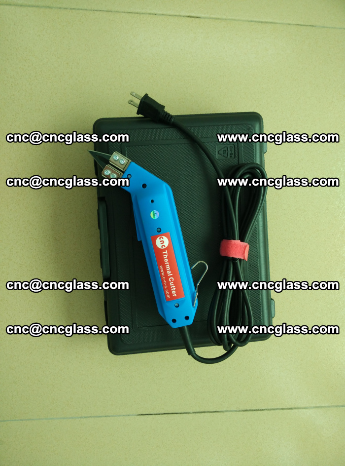 Hot knife trimmer for laminated glass edges cleaning (9)