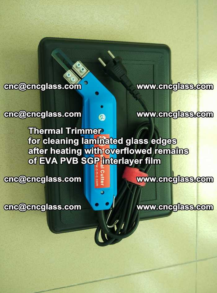 Thermal Trimmer for cleaning laminated glass edges (17)