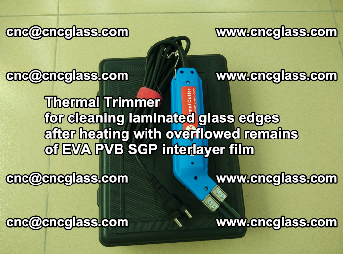 Thermal Trimmer for cleaning laminated glass edges (50)