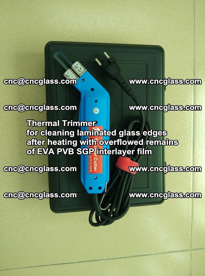 Thermal Trimmer for cleaning laminated glass edges (6)