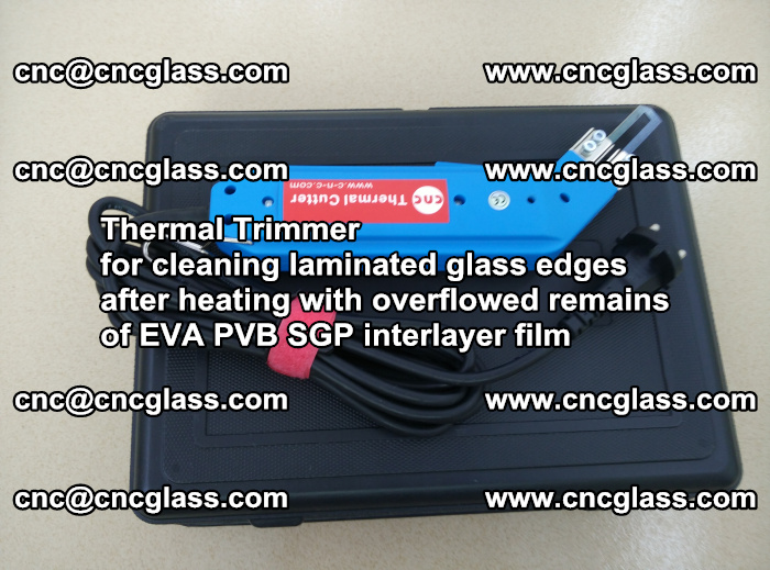Thermal Trimmer for cleaning laminated glass edges (60)