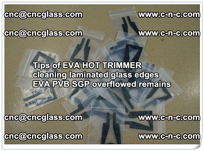 Tips of EVA HOT TRIMMER cleaning laminated glass edges  (37)