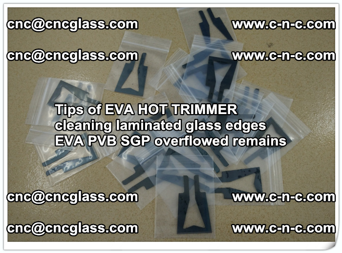 Tips of EVA HOT TRIMMER cleaning laminated glass edges  (39)