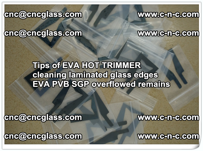 Tips of EVA HOT TRIMMER cleaning laminated glass edges  (54)