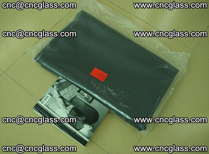 EVA glass interlayer film sample for safety glazing Grey Transparent (1)