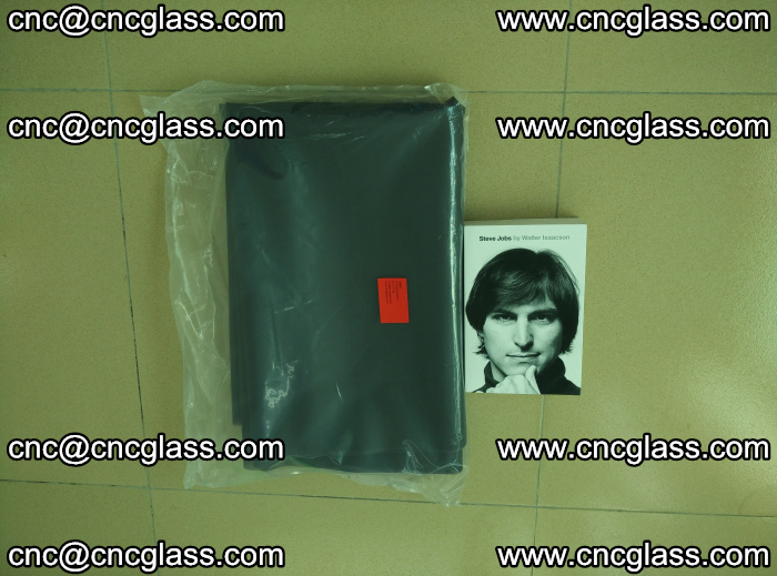EVA glass interlayer film sample for safety glazing Grey Transparent (10)