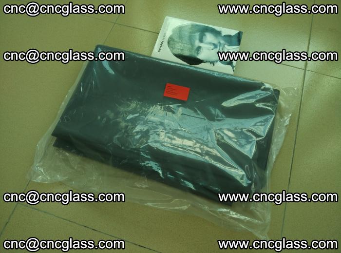 EVA glass interlayer film sample for safety glazing Grey Transparent (16)