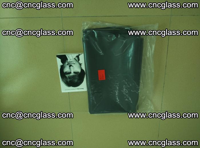 EVA glass interlayer film sample for safety glazing Grey Transparent (2)