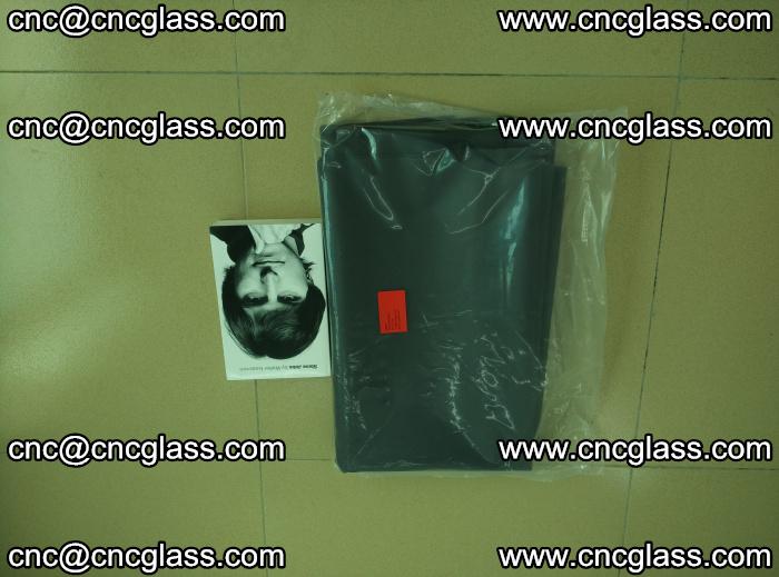 EVA glass interlayer film sample for safety glazing Grey Transparent (3)