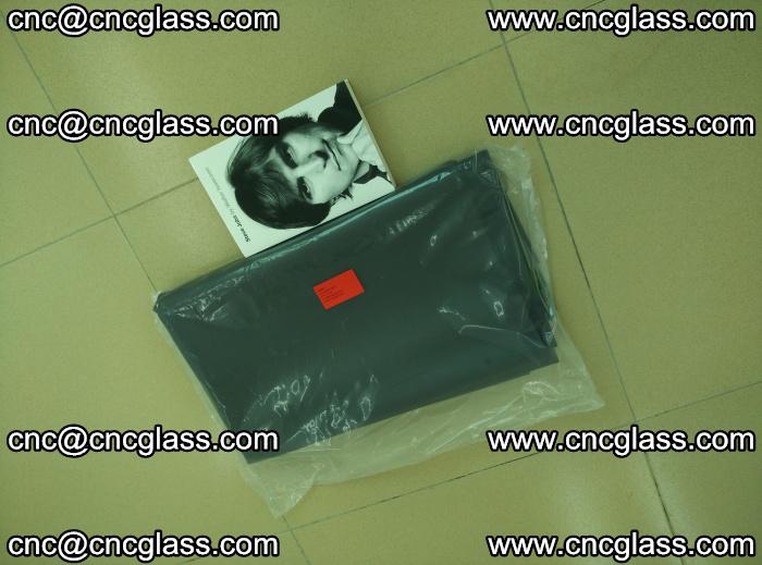 EVA glass interlayer film sample for safety glazing Grey Transparent (5)