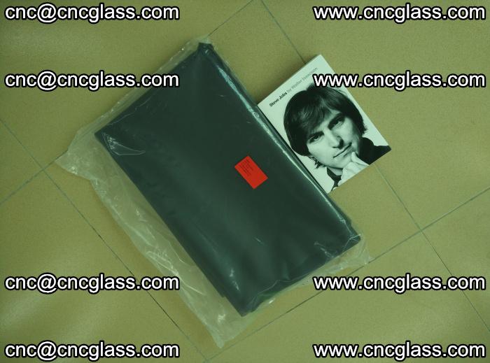 EVA glass interlayer film sample for safety glazing Grey Transparent (8)