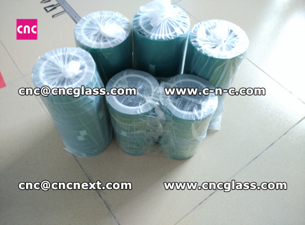 Thermal PET GREEN TAPE for safety glass (10)