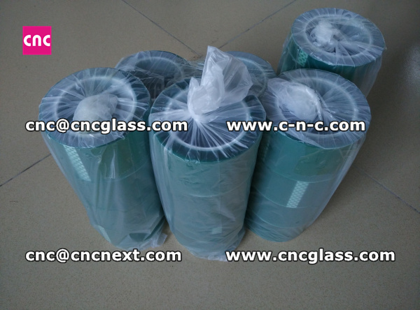 Thermal PET GREEN TAPE for safety glass (14)