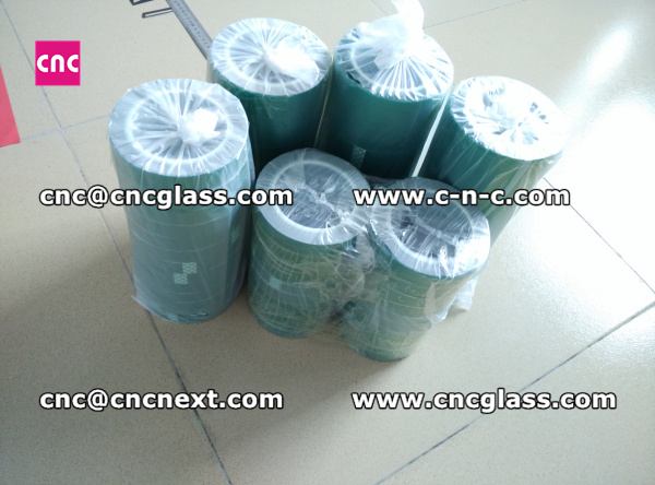 Thermal PET GREEN TAPE for safety glass (8)