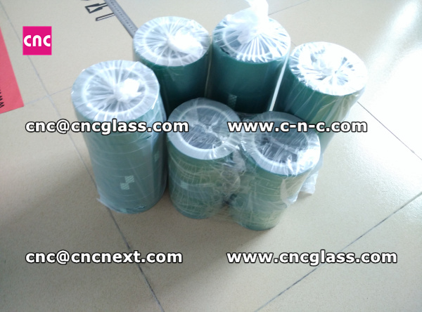 Thermal PET GREEN TAPE for safety glass (9)