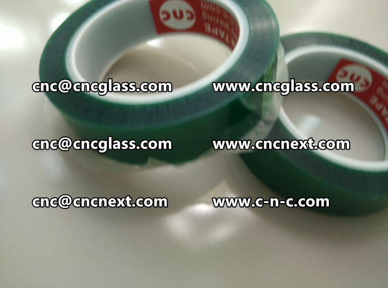 SAFETY GLAZING GREEN TAPE PET GREEN TAPE (7)