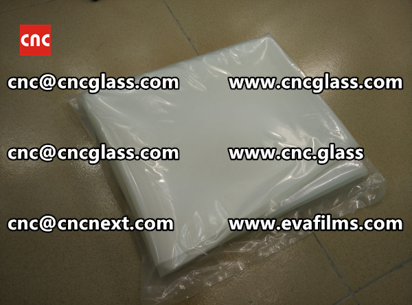 EVA (ethylene vinyl acetate copolymer) interlayer film for decorative laminated glass  (3)