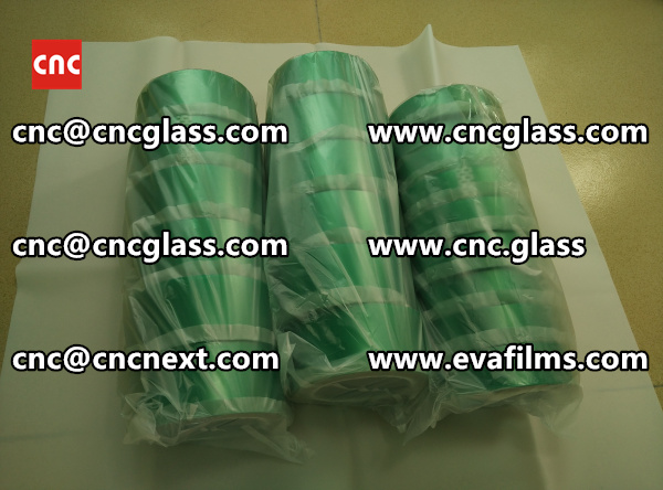 HIGH TEMP GREEN TAPE FOR SAFETY GLASS INTERLAYER TRIMMING (5)