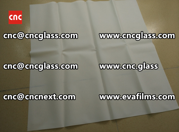 Laminated safety glass EVA-based densely cross-linked interlayer (8)