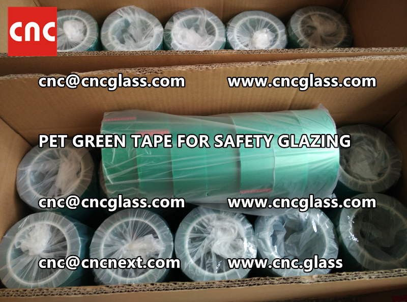 HIGH TEMP GREEN TAPE for safety glazing eva pvb sgp (1)
