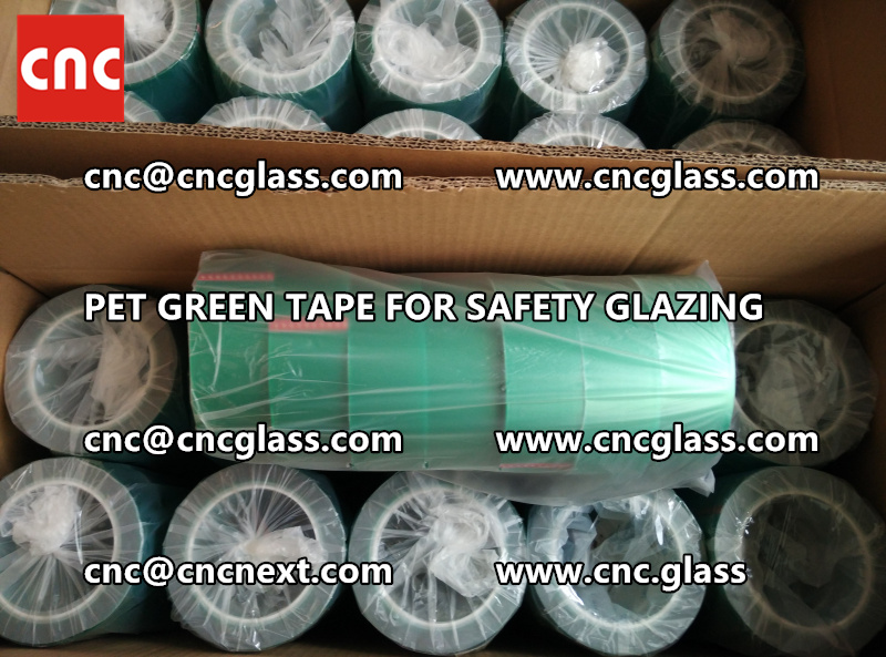 HIGH TEMP GREEN TAPE for safety glazing eva pvb sgp (10)