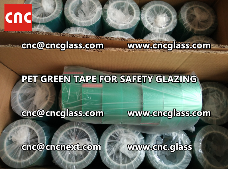 HIGH TEMP GREEN TAPE for safety glazing eva pvb sgp (11)