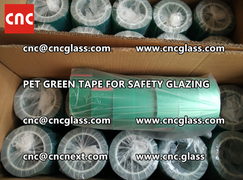 HIGH TEMP GREEN TAPE for safety glazing eva pvb sgp (12)