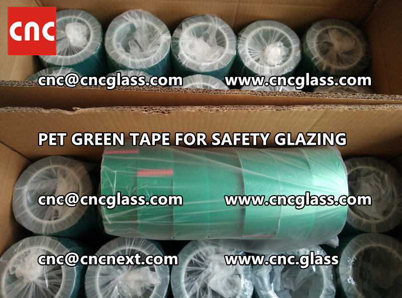 HIGH TEMP GREEN TAPE for safety glazing eva pvb sgp (13)