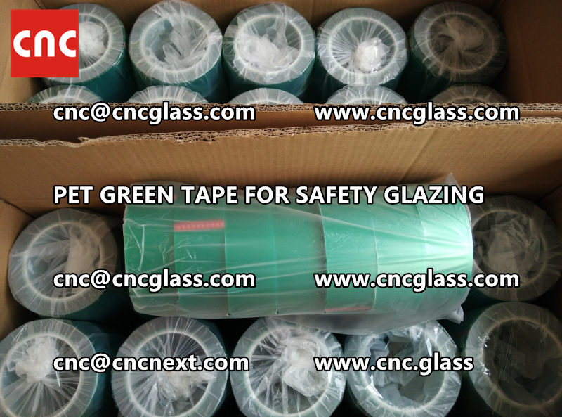 HIGH TEMP GREEN TAPE for safety glazing eva pvb sgp (14)